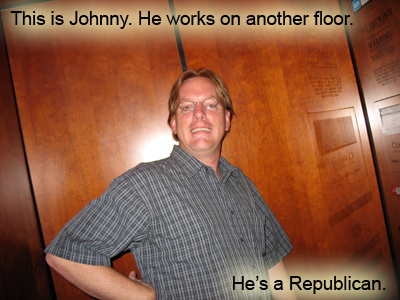 Johnny the Republican.